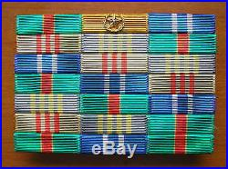 07's China PLA Central Military Commission General Rank, Year Ribbons, Metal Frame