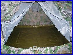 07's series China PLA Army Woodland Digital Camouflage Military 3-4 people Tent