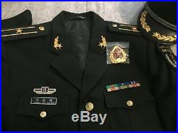 15's China Army PLA Military Strategic Support Force Unit Officer Major Uniform