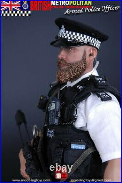 16 MODELING TOYS MMS9002 British Armed Police Officer Collectible Figure