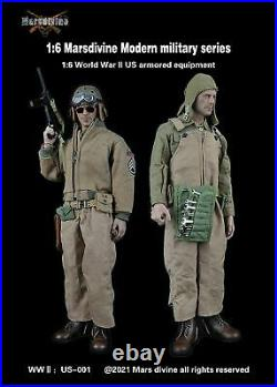 16 Marsdivine US-001 Modern Military WWII US Armored Equipment Set F 12'' Body