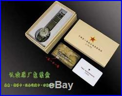 1963 Official Seagull Watch Sapphire + Extra Leather Band with Retail box D304