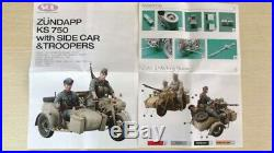 1/16 Resin Figure Model (Without People) Kit motorcycle complex Unpainted