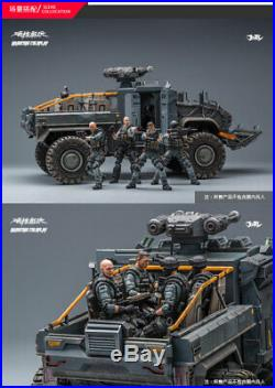 1/18 JOYTOY Crazy Reload Suv Car Model For 1/18 Soldier Military Figure Toy