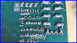 1/35 Resin Figure Model Kit Polish Cavalry Charge (NO Spear NO flag) Unpainted