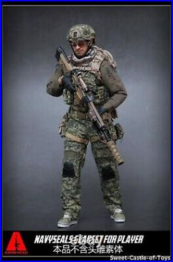 1/6 Armshead Easy Simple Military Action Figure US Navy Seals Gear Set AES001