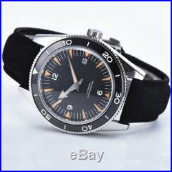 41mm Sterile Dial Sapphire Glass SS Case MIYOTA Automatic Mechanical men's Watch