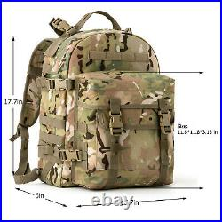 AKMAX Military Army MOLLE 2 Tactical Medium Rucksack Rifleman 3 Day Assault Pack