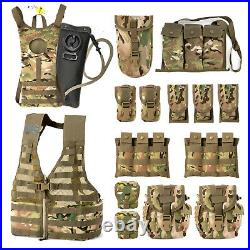 AKMAX Military Army MOLLE II Rifleman Tactical Combat Assault Vest with Pouches