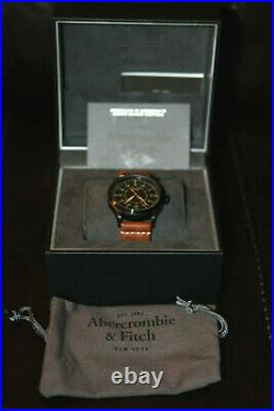 Abercrombie&Fitch Limited Edition 181/300 Mens Aviation Automatic Watch RARE NEW