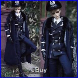 Accept custom Handmade Military Uniform Suit BJD Uncle 1/3 SD SD17 Doll Clothes