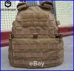 CB TMC Tactical Military 6094 style Plate Carrier Hunting Protective 3 pouches