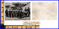CHINA CHINESE MILITARY ARTILLERY ORIG HISTORIC PHOTOGRAPH 1900s
