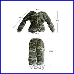 Camouflage Ghillie Suit Secretive Hunting Clothes Sniper Army Airsoft Uniform