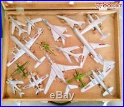 China 1970s Military Aircraft Training Model Total 15 in Box