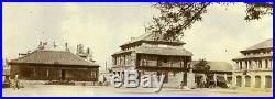 China Beijing the French barracks Military Old Photo 1906