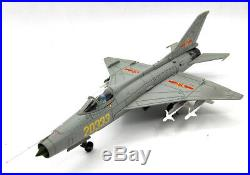 China J-7G Fighters 1/48 diecast plane model aircraft AF1