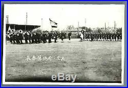 China, Military Parade Vintage silver print. Vintage China Tirage argentique