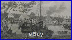 Chinese Military Drawn Out in Compliment to the British Embassador, April 1796
