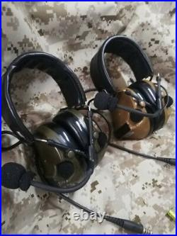 Comtac-III C3 Noise Reduction Headset Military Tactical Headphone 2Color For TCA