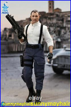 DID 1/12 XM80003 Modern MI6 Agent Jack 6'' Military Soldier Action Figure Model