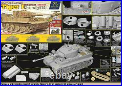 DRAGON 6947 1/35 Tiger I Late Production withZimmerit Normandy 1944 TANK