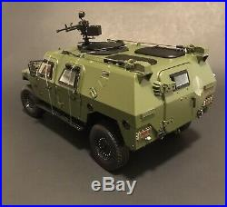 DongFeng Mengshi Military Armoured Vehicle 4X4 Chinas Hummer 1/18 Us Seller
