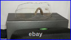 Gargoyles New Sunglasses Military Trench Tan Brown & Clear 10700159FP. QTM