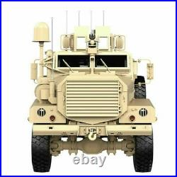 HG P602 1/12 2.4G 6WD 16CH 25km/h Electric RC Model Car For Cougar Army Military