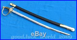 Hand Forge China National Flag Guards Military Honour Guard Officer's Sword
