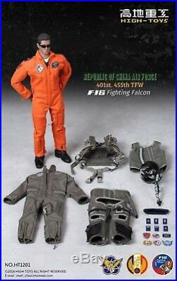 High Toys 1/6 SCALE 12 Republic of China F-16 Fighting Falcon Pilot HT1201 USA