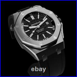 Hruodland Newest Automatic Men's Watches Male Retro Classic business Wristwatch