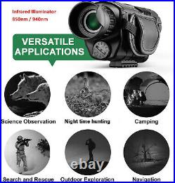 Infrared Night Vision Monocular hunting tracking security surveillance outdoors
