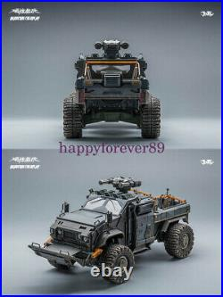 JOYTOY 1/18 Crazy Reload Suv Car Model For 1/18 Soldier Military Figure Toy