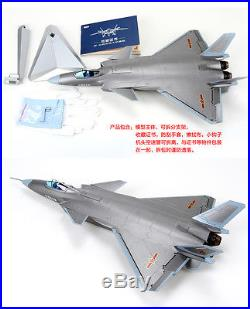 MILITARY MODEL, 148 Chinese J-20 Stealth Fighter, China Latest Fighter, GREY