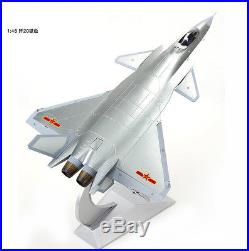MILITARY MODEL, 148 Chinese J-20 Stealth Fighter, China Latest Fighter, SILVER