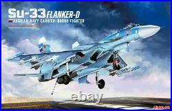 MINIBASE 8001 1/48 Russian Navy Carrier-Borne Fighter Su-33 Flanker- D