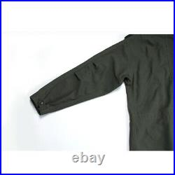 M-51 Fish Tail Parka Shell Vintage US Army Trench Coat Military Uniform Green