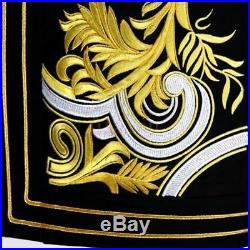 Mens Royal Suit Blazer Military Bar Party Coat Jacket Outwear Embroidery Show