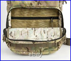Military FILBE Assault Pack with Pouch, Army Tactical Backpack Multicam