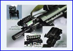 Military Level Compact Green Laser Sight with 500 Lumen LED Light Combo