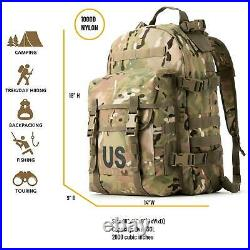 Military Molle II 3 Day Assault Pack Army Tactical Backpack Multicam