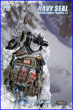 Mini Times Military 1/6 Scale 12 Action Figure Navy Seal Winter Combat Training