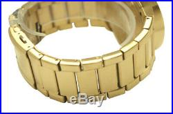 Nixon A160502 Cannon Gold Sunray Ana Dial Stainless Steel Bracelet Men Watch NEW