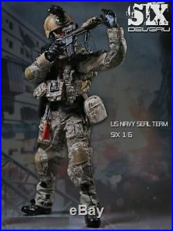 PLAYHOUSE 1/6 Soldiers US Military Navy Seal Team 6 Double Guns K9 & Dog Toys
