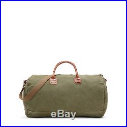 Polo Ralph Lauren Distressed Canvas Leather Military Duffle Bag New $395