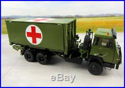 RARE! 1/43 Steyr medical truck China military vehicle DIECAST MODEL