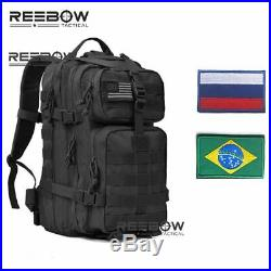 REEBOW TACTICAL Outdoor Hiking Backpacks for Military 3D Hunting Fishing Camping