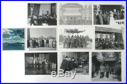 Rare Lot 10 Real Photos Bulgarian Communist Military Army Delegation China #7