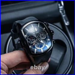 Reef Tiger/RT men's watches analog Automatic Skeleton branded expensive military